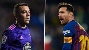 Iago Aspas, Lionel Messi
