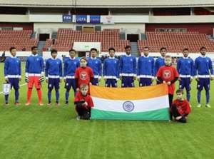 India U17 Tajikistan U18 Granatkin Memorial Cup 2016