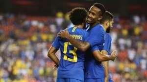 Eder Militao Marquinhos Brazil El Salvador Friendly 11092018