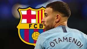 Nicolas Otamendi Man City Barcelona