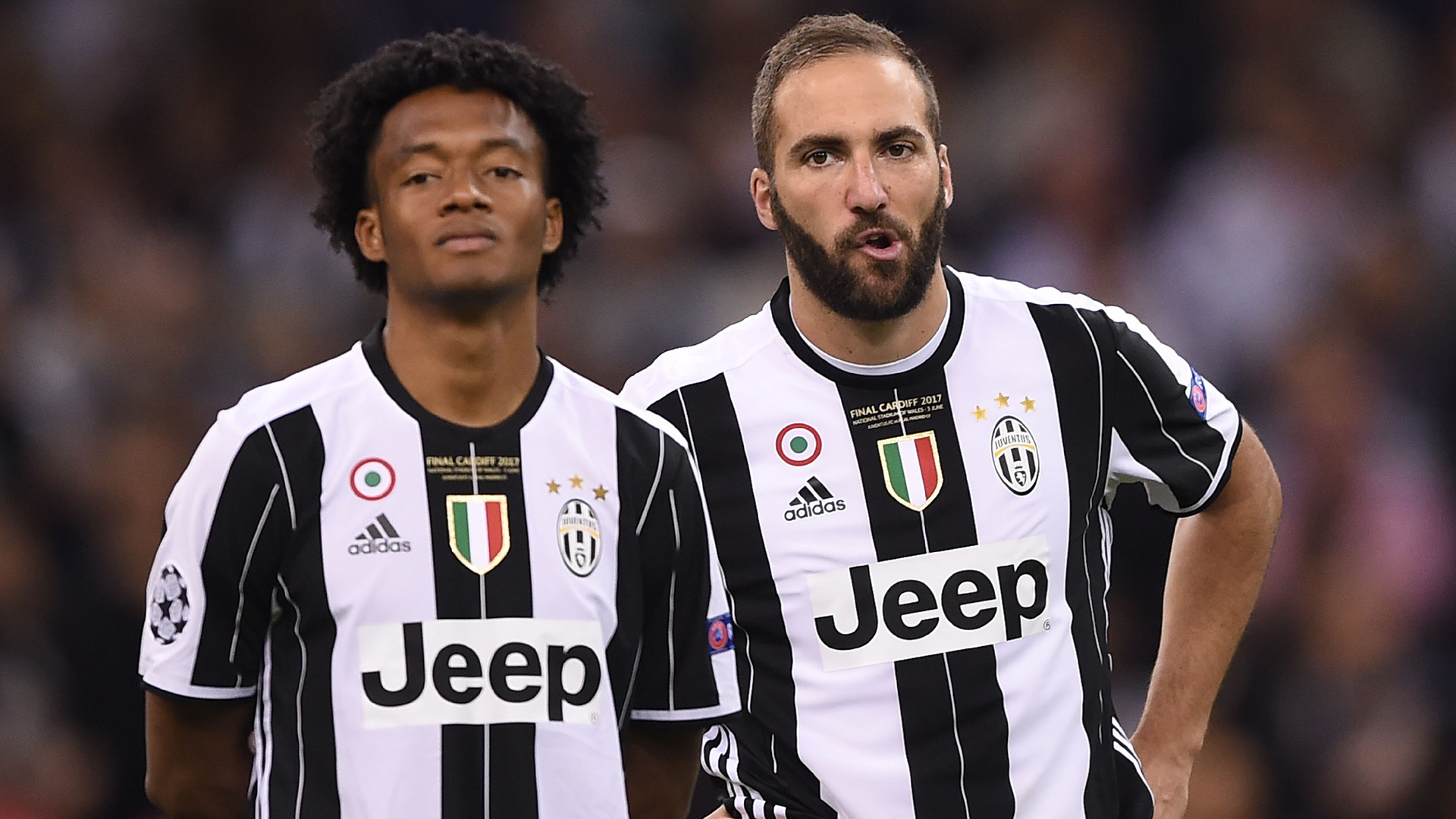 Cuadrado Higuain Juventus