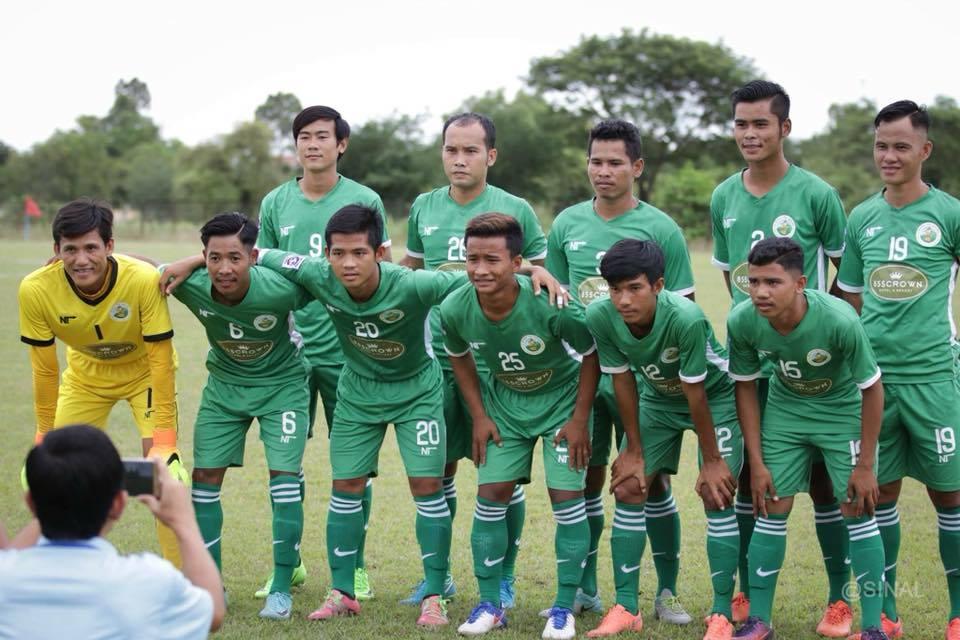 Tiền vệ Lâm Huệ Dũng - Kirivong Sok Sen Chey FC