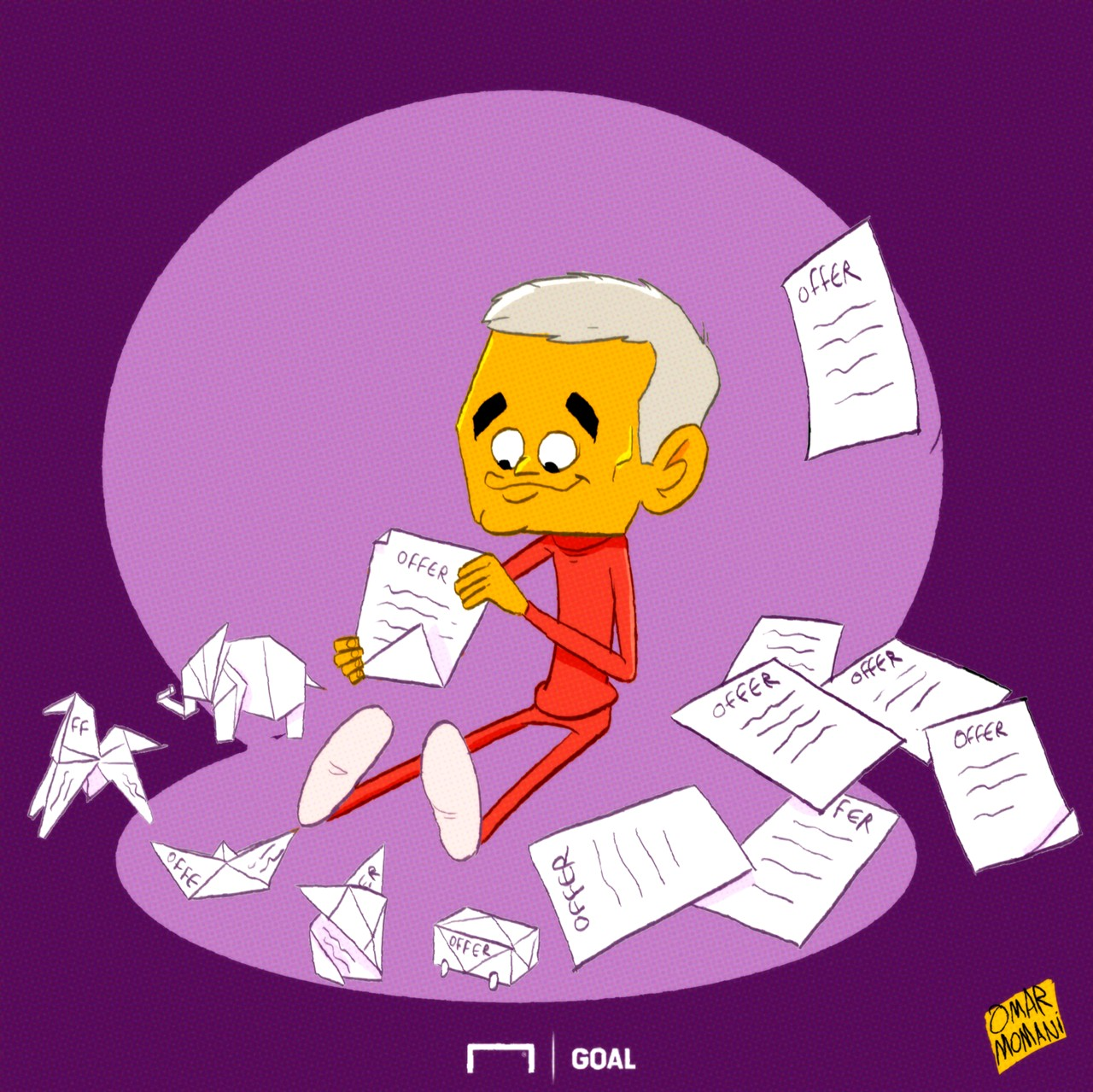 Jose Mourinho Cartoon
