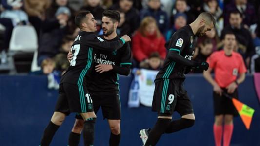Lucas Vazquez Isco Leganes Real Madrid LaLiga 21022018