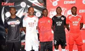 Ulinzi Stars playerss.