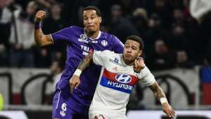 Memphis Depay Christopher Julien Lyon Toulouse Ligue 1 01042018