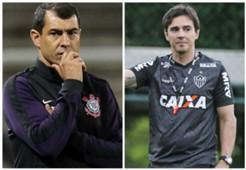 GFX Fabio Carille Thiago Larghi Corinthians Atlético-MG