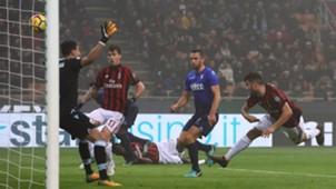 Patrick Cutrone Milan Lazio