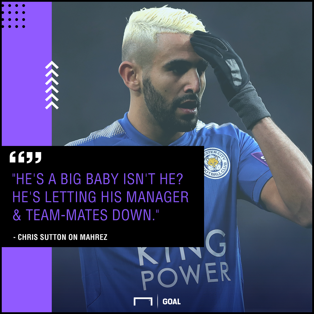 Leicester boss hopes stay-away Mahrez 'can get his head right'