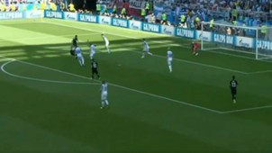 CAPTURA Gol Aguero Argentina Islandia Iceland World Cup 16062018