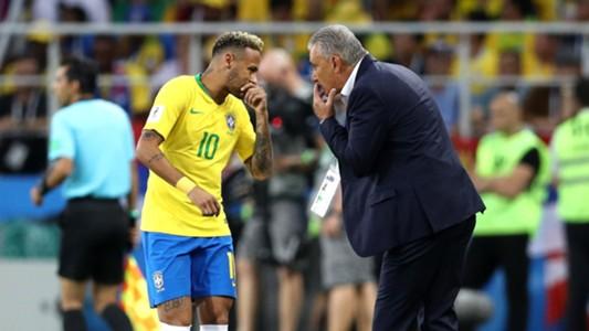 Neymar Tite Brazil 27062018