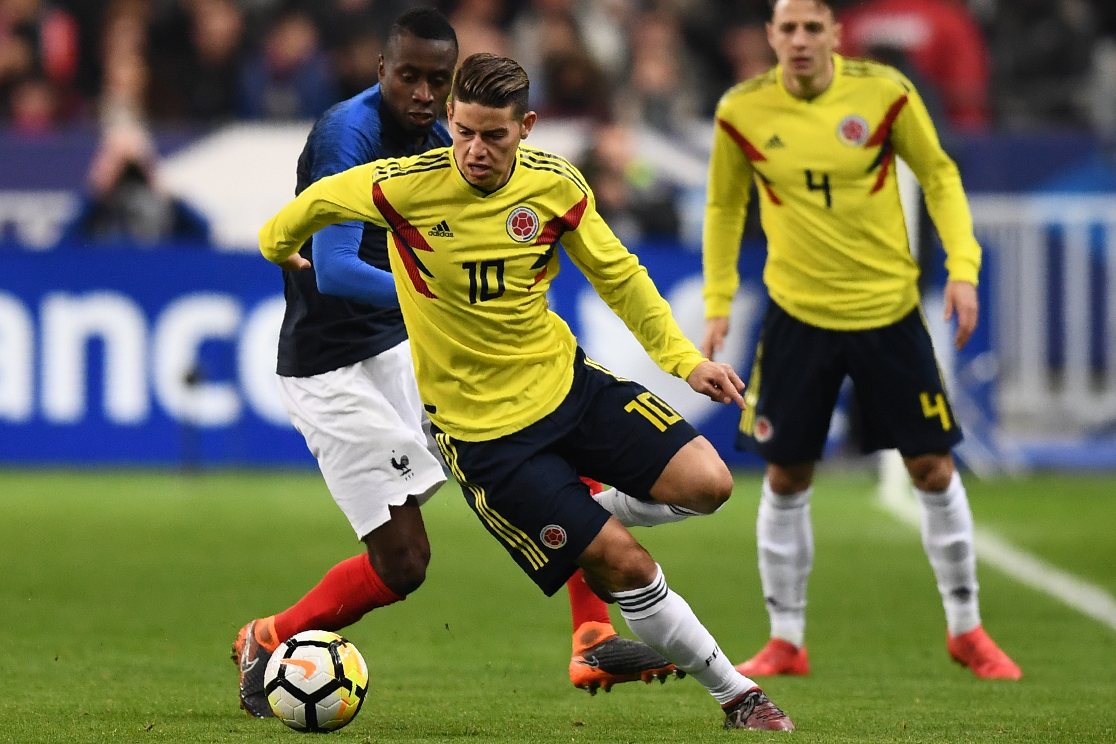 James Rodriguez France Colombia