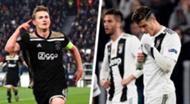 Juventus Ajax Champions League 2018-19