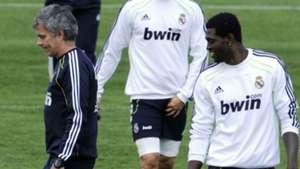 Mourinho and Adebayor