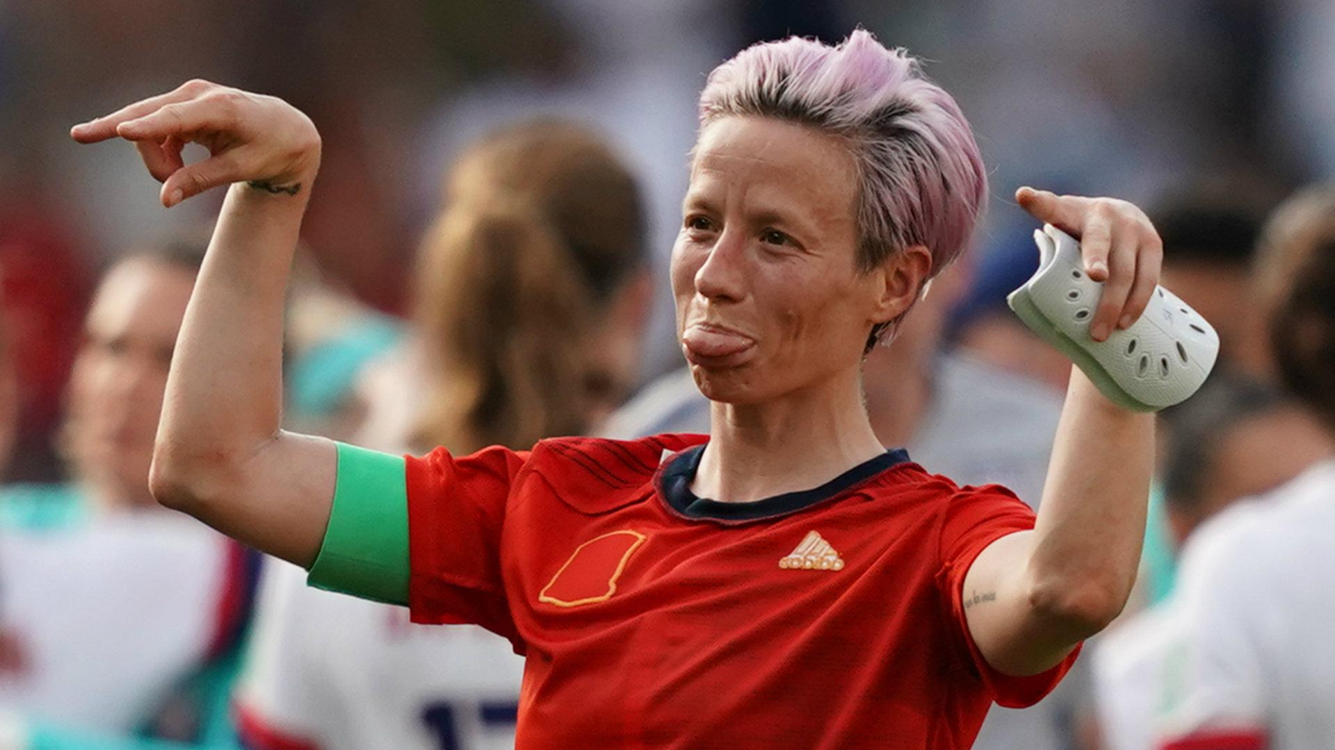 Megan Rapinoe USWNT vs Spain Women's World Cup 2019