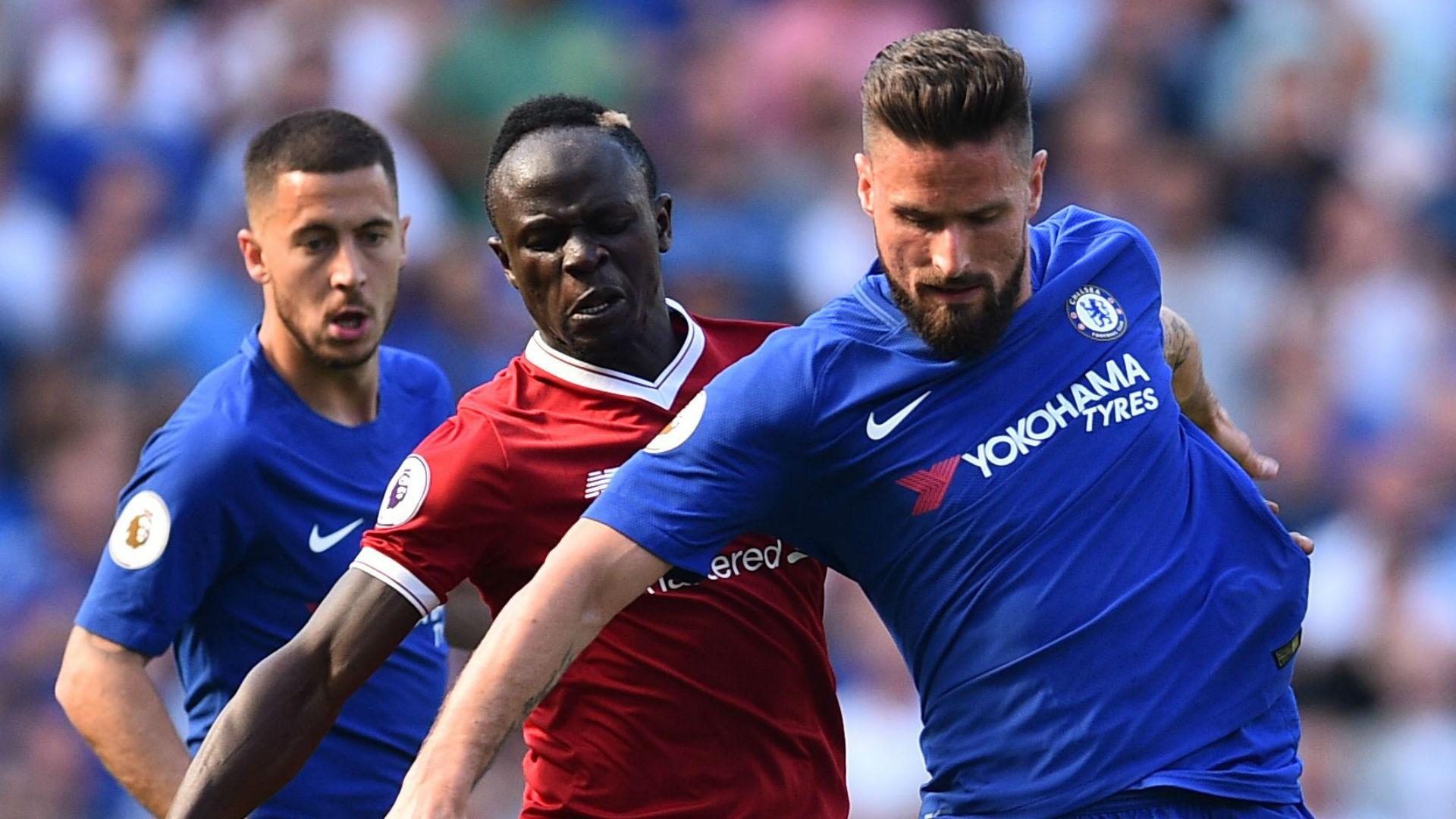 Sadio Mane Liverpool Olivier Giroud Chelsea