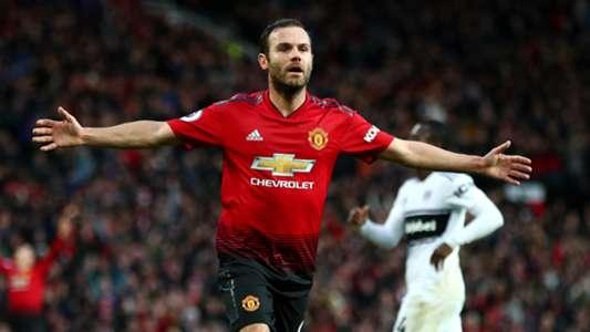Juan Mata Manchester United Fulham
