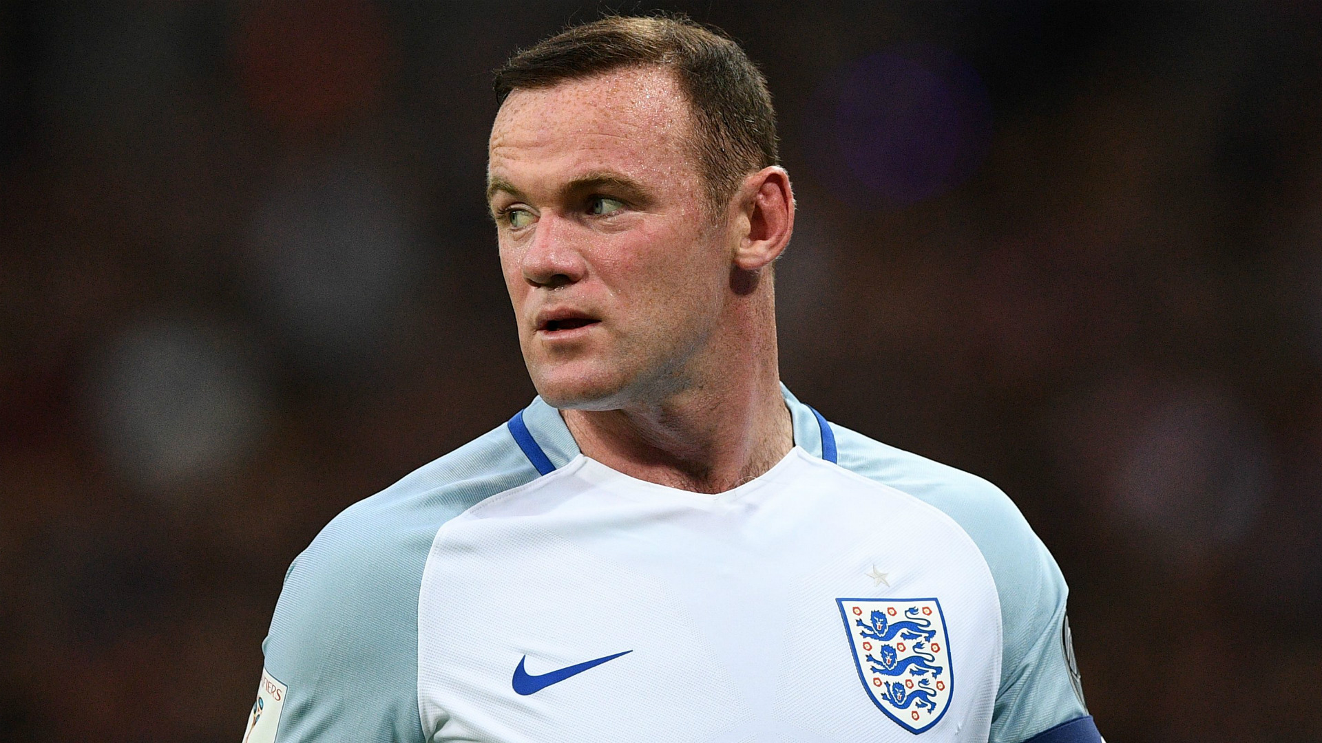 Wayne Rooney arrives at St George's ahead of England farewell appearance