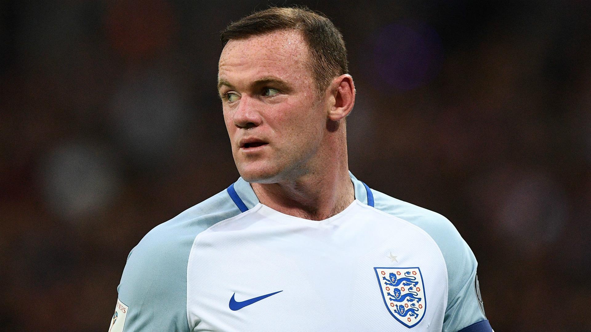 Wayne Rooney England 2016
