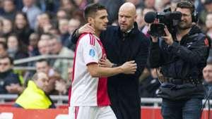 Dusan Tadic Erik ten Hag Ajax 02172019