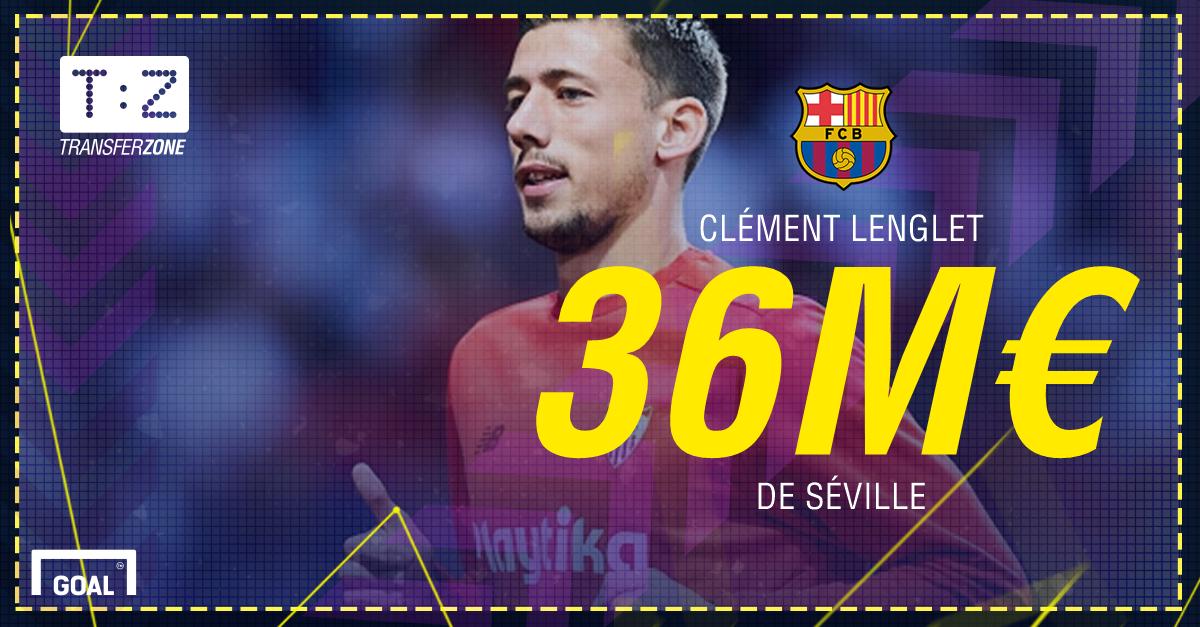 PS Clément Lenglet Barça