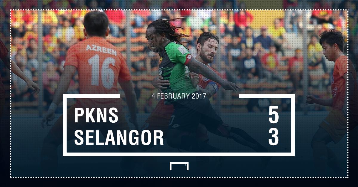Result PKNS Selangor Super League 2017