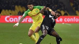 Diego Carlos Stiven Mendoza Nantes Amiens Ligue 1 24022018