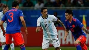 Di Maria James Argentina Colombia Fecha 1 Grupo B Copa America 2019