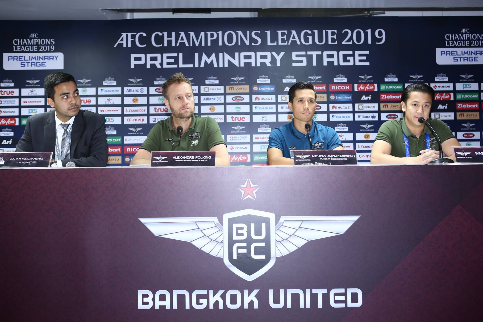 Bangkok United v Ha Noi - AFC Champions League 2019