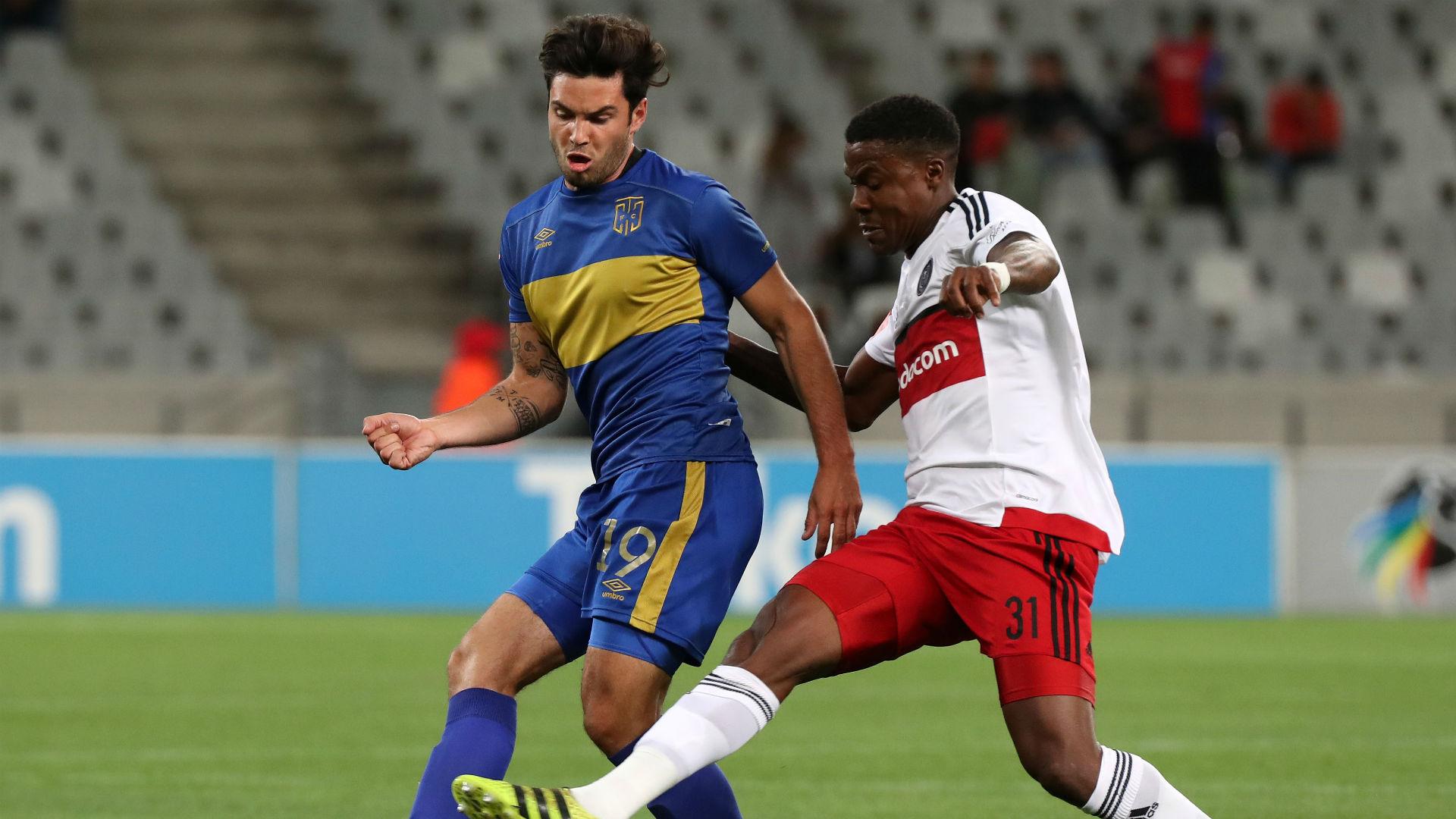 Cape Town City, Roland Putsche & Pirates, Thamsanqa Gabuza