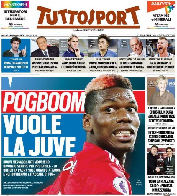 Pogba-Mourinho, alta tensione. E il francese spinge per tornare a Torino