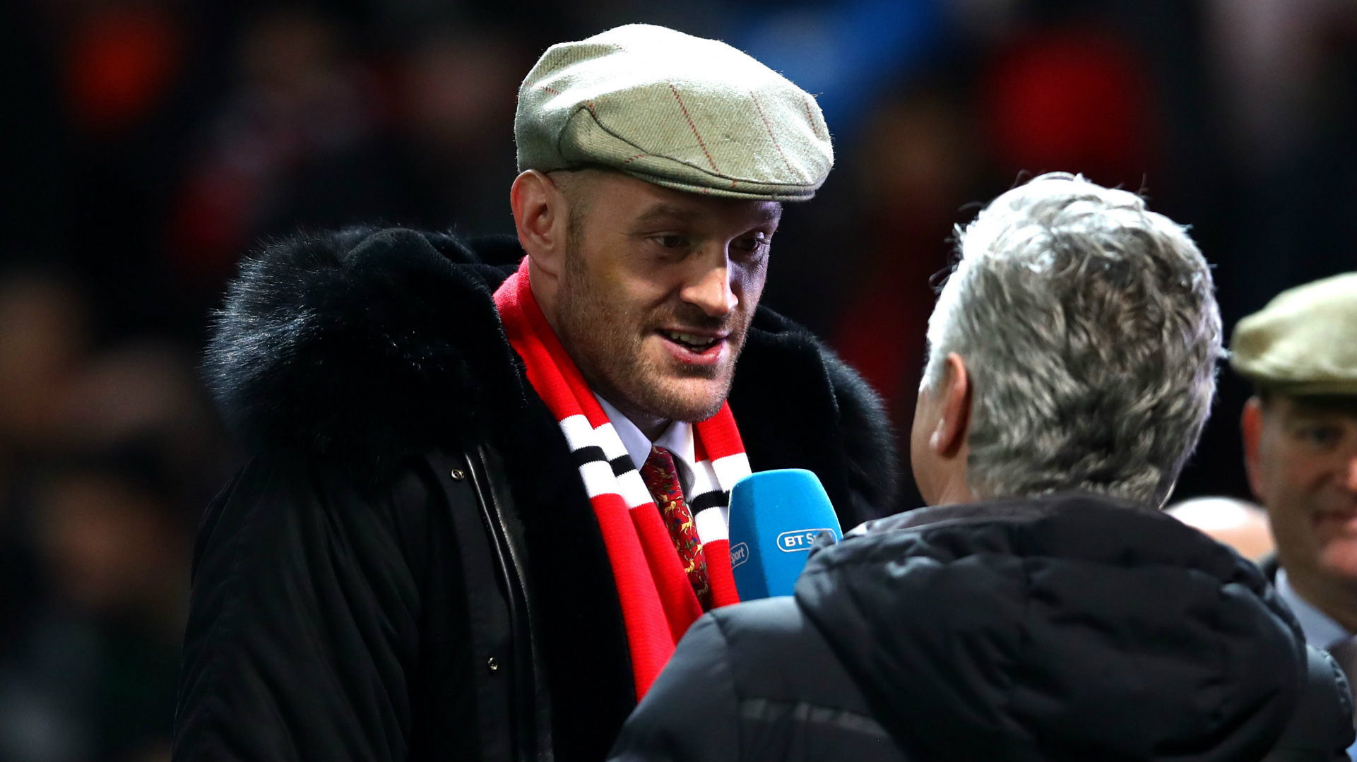 Tyson Fury Man Utd vs Arsenal Premier League 2018-19