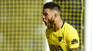 Nahitan Nandez Boca San Martin de San Juan Fecha 17 Superliga Argentina