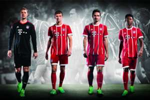 FC Bayern new kit 2017/18