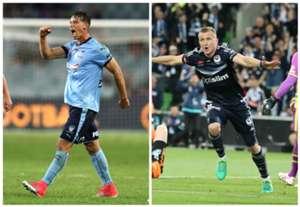 Filip Holosko Sydney FC Besart Berisha Melbourne Victory A-League