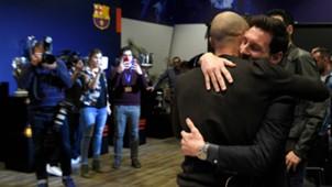 Lionel Messi Javier Mascherano Barcelona 24012018