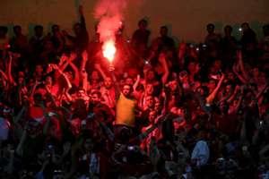 Persepolis fans celebrate