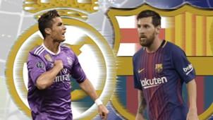 Cristiano Ronaldo, Lionel Messi, Neymar: Kandidat Peraih Sepatu Emas 2017/18