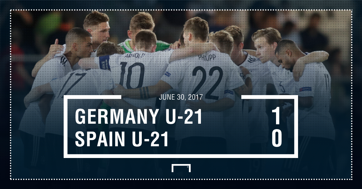 Germany Spain result