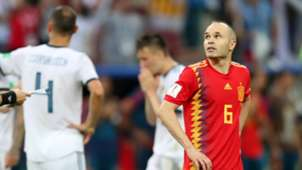 Andres Iniesta Spain Russia World Cup 2018