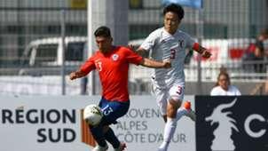Chile-Japón Torneo Maurice Revello 2019