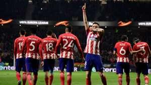Saul Atletico Madrid Lokomotiv Europa League
