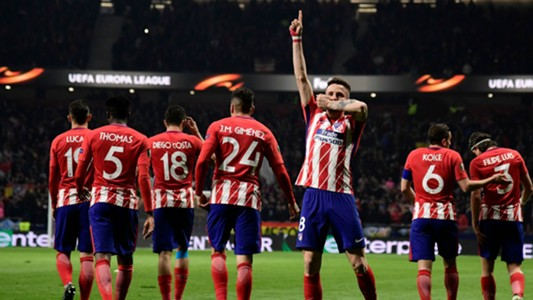 Saul Atletico Madrid Lokomotiv Europa League