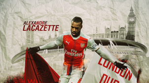 Alexandre Lacazette Arsenal HD GFX
