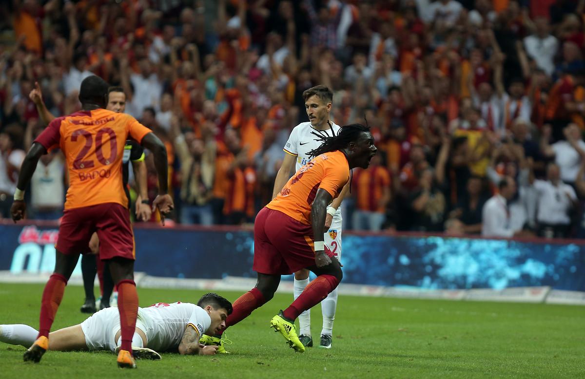Bafetimbi Gomis Galatasaray Kayserispor 08/14/17