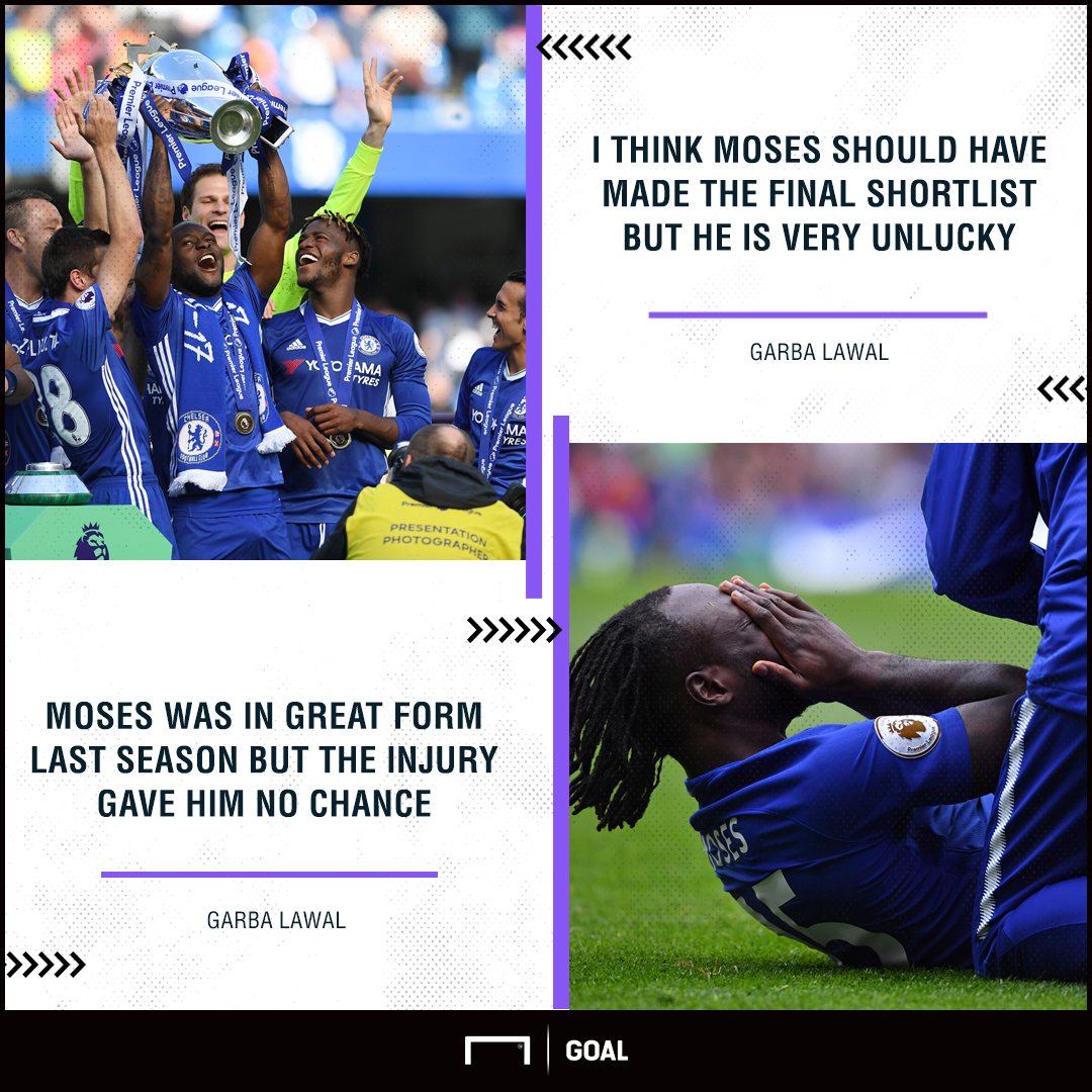 Moses CAF POTY