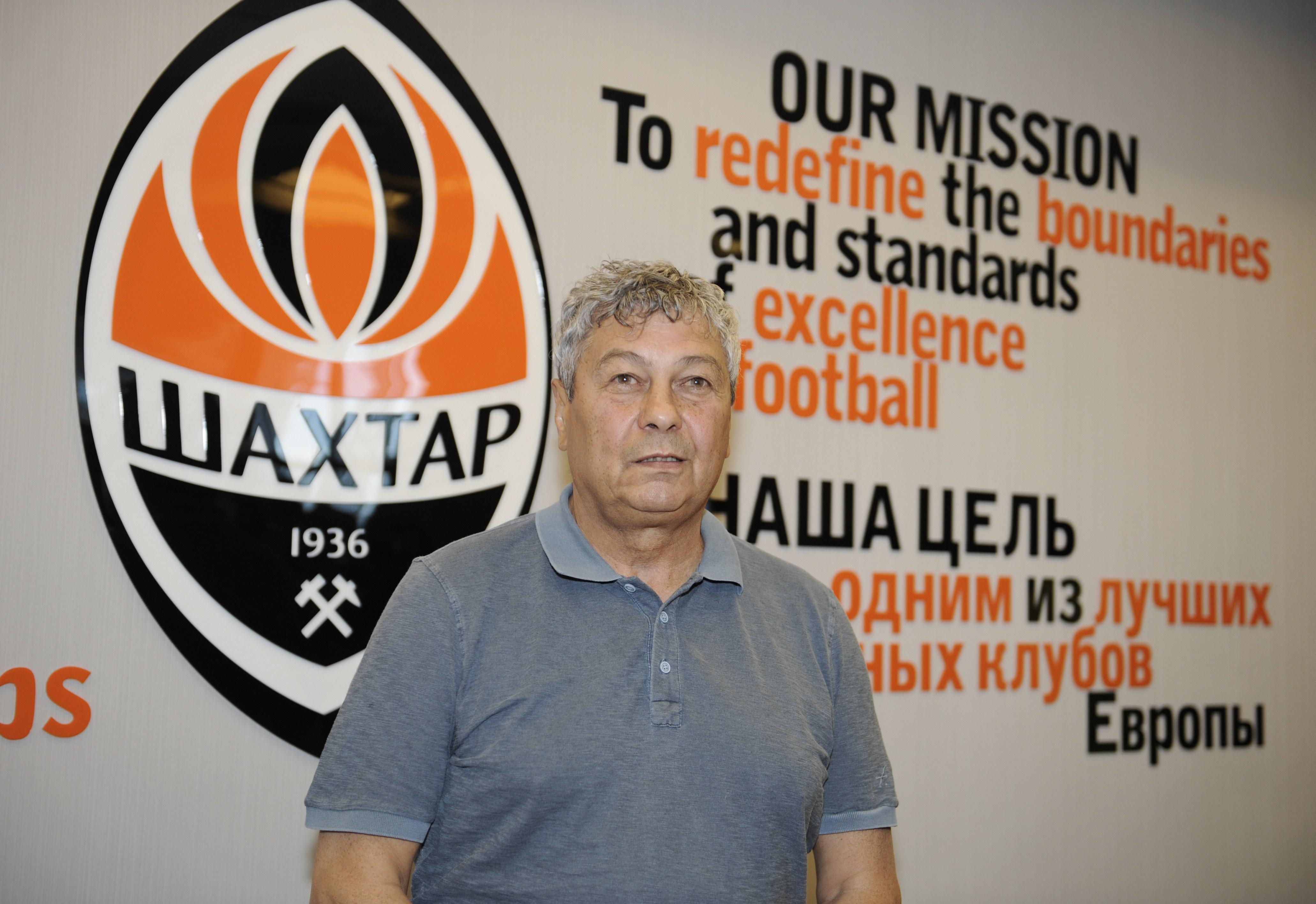 Mircea Lucescu Shakhtar Donetsk