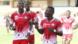 Kenya U-23 national team v Mauritius.