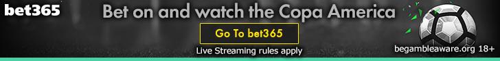 bet365 Copa America banner