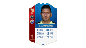 FIFA 18 World Cup CONMEBOL Ratings Campana